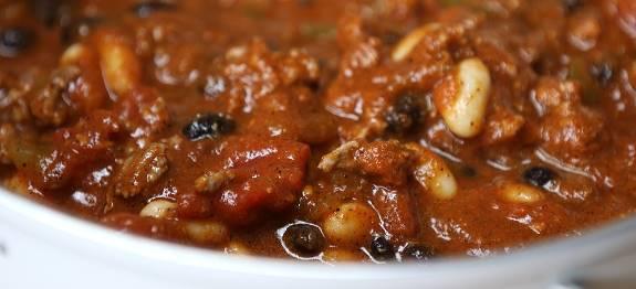 Mexicaanse bonensoep met chorizo