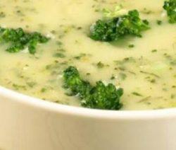 Recept Bloemkoolsoep met broccoli